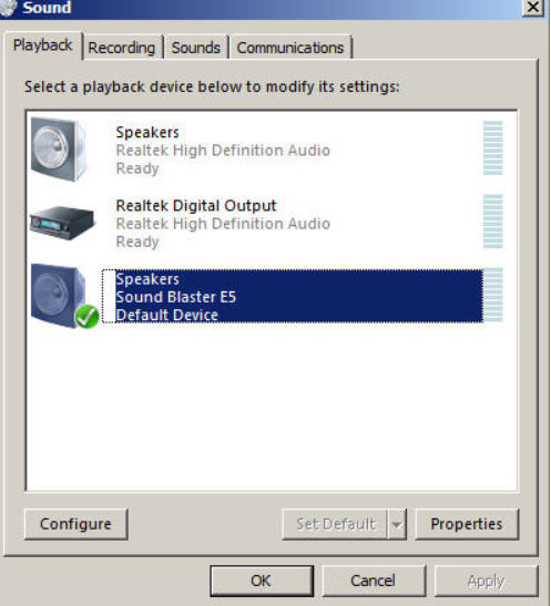 Support Creative Com - Sound Blaster: General Audio Troubleshooting