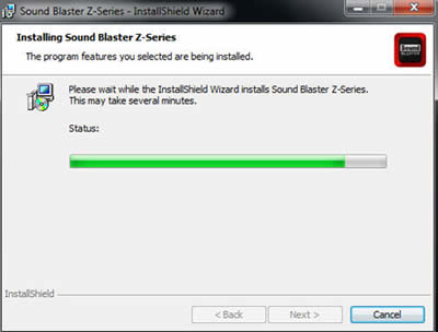 Support Creative Com - How to install Sound Blaster ZxR