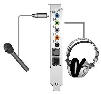 Support Creative Com - Configure and Connecting Headphones to PC